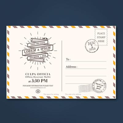 Postcode Printing